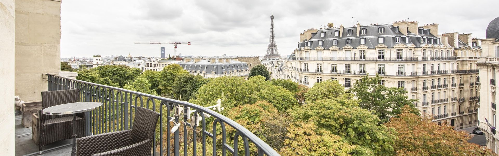 Luxury furnished rental in Paris